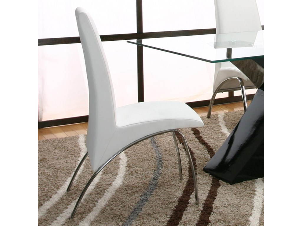 About A Chair 12 Side Chair.Cramco Inc Mensa White Side Chair Value City Furniture Dining