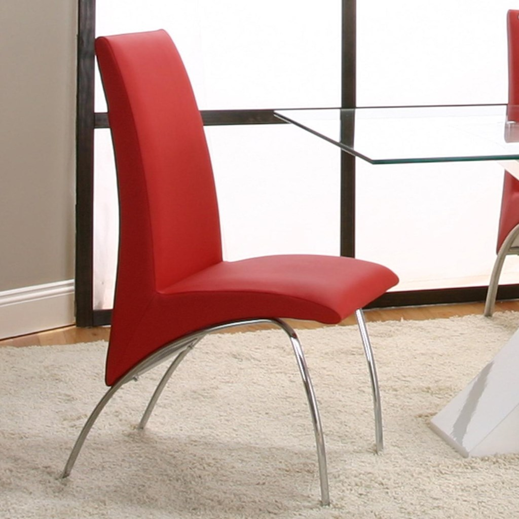 About A Chair 12 Side Chair.Cramco Inc Mensa Red Side Chair Value City Furniture Dining