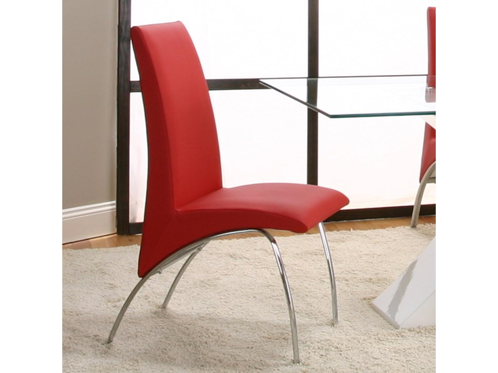 Cramco, Inc MensaRed Side Chair