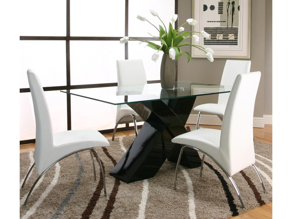 Cramco, Inc Mensa5 Piece Table & Chair Set