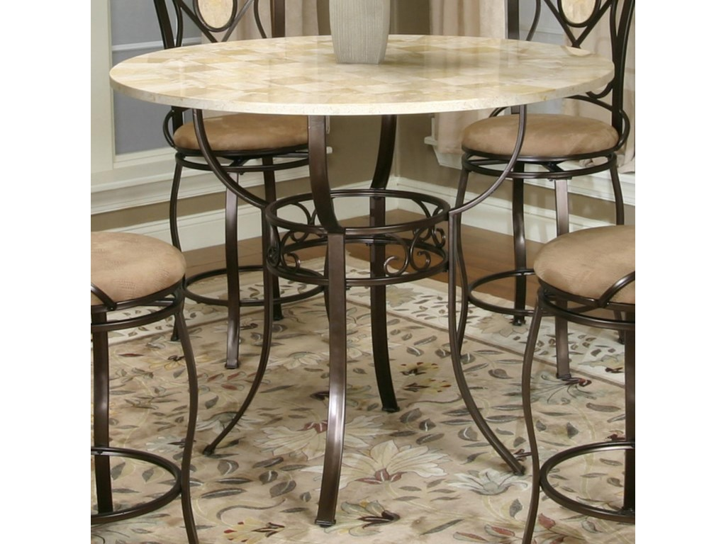 Cramco, Inc Cramco Trading Company - NadiaBronze Counter Height Pub Table