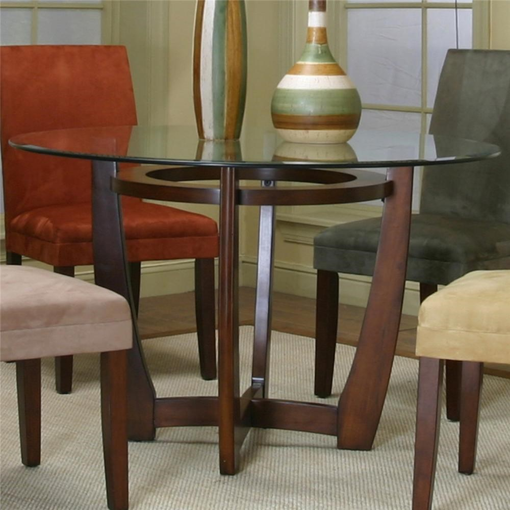 Cramco inc contemporary design parkwoodround dining table