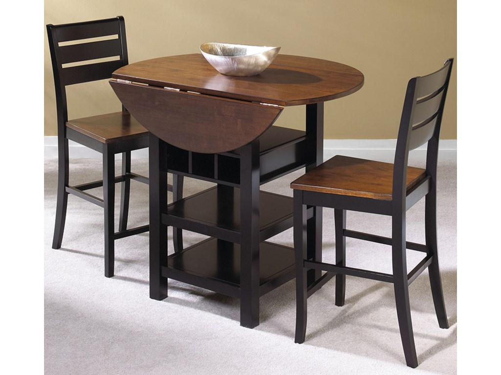 Cramco Inc Quincy 3 Piece Pub Table