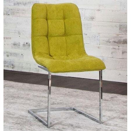 Fern/Chrome Side Chair (Welded)