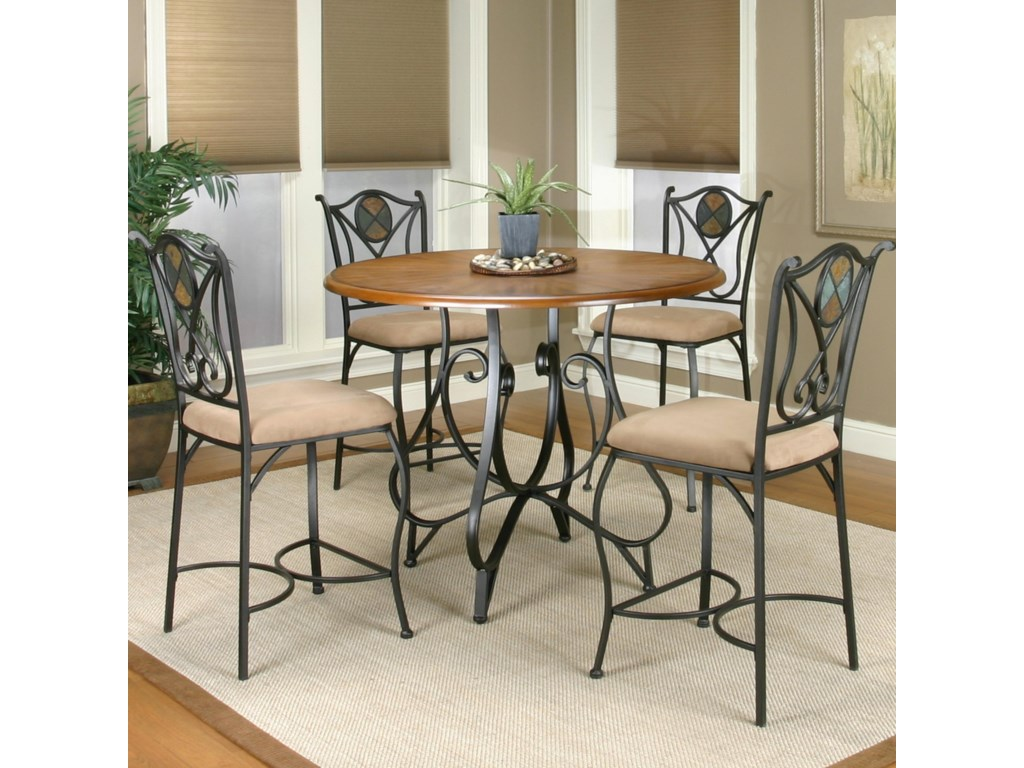 Cramco, Inc Cramco Trading Company - RavineCounter Height and Counter Stool Set