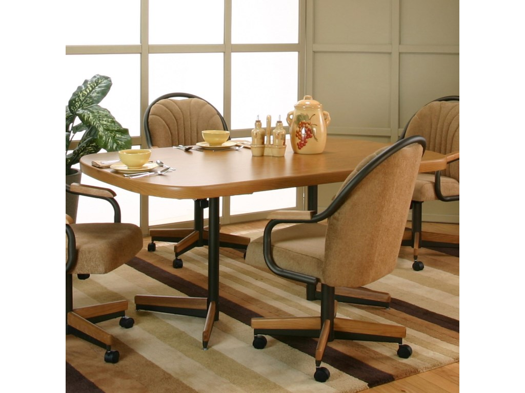 Cramco, Inc ShawBow-End Dining Table
