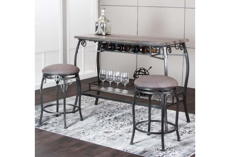 Fabulous Sprite 3 Piece Bar Dining Set Onthecornerstone Fun Painted Chair Ideas Images Onthecornerstoneorg