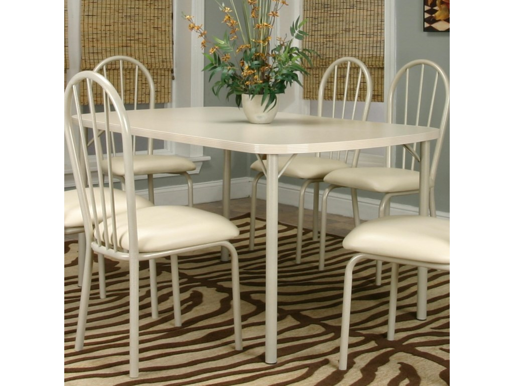 Cramco, Inc TawnyBow-End Almond Top Table