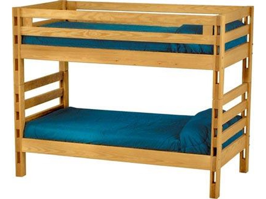 Crate Designs Crate Designs - BedroomTwin/Twin Bunk Bed