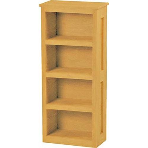 Crate Designs Crate Designs - Bedroom Loft Book Case w/ 4 Shelves