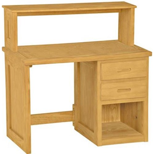Crate Designs Crate Designs - Bedroom Student Desk w/ Shelf