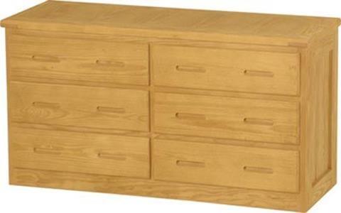 Crate designs crate designs bedroom dresser w 6 drawers
