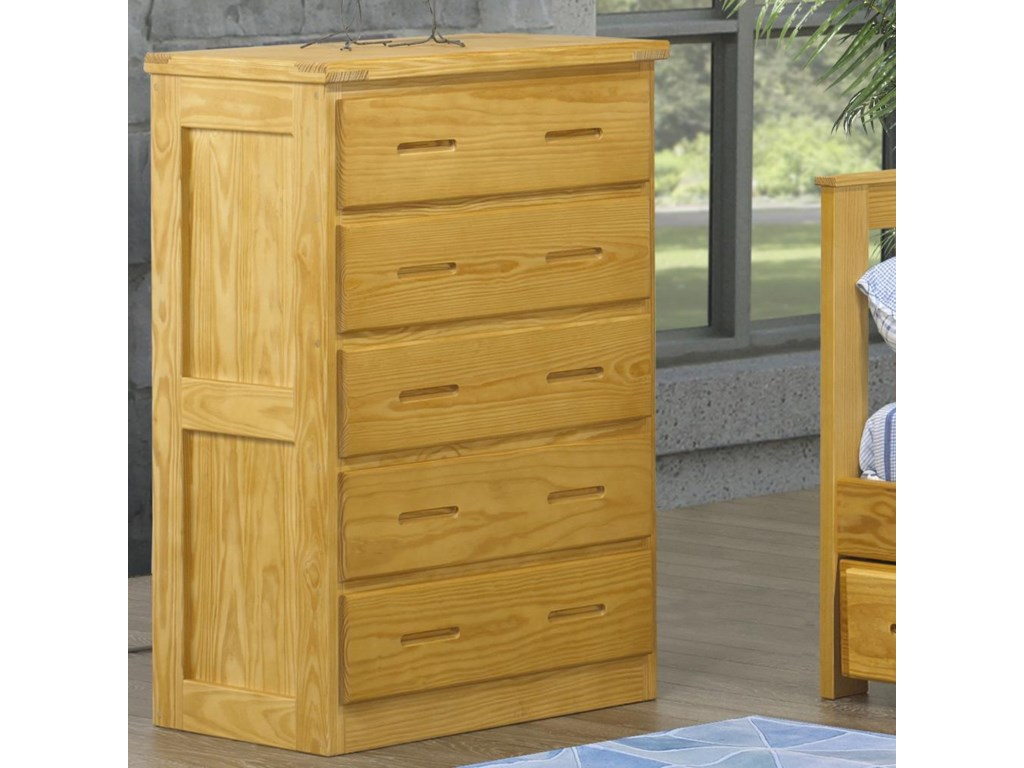 Crate Designs Crate Designs - BedroomFive Drawer Chest