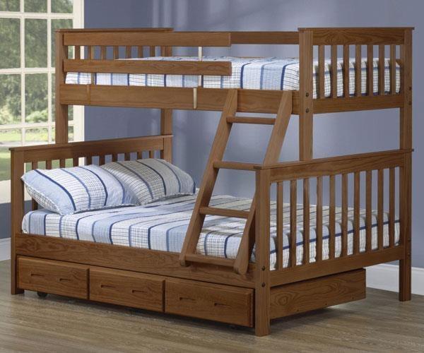Crate Designs Crate Designs Bedroom Twin Double Bunk Bed W