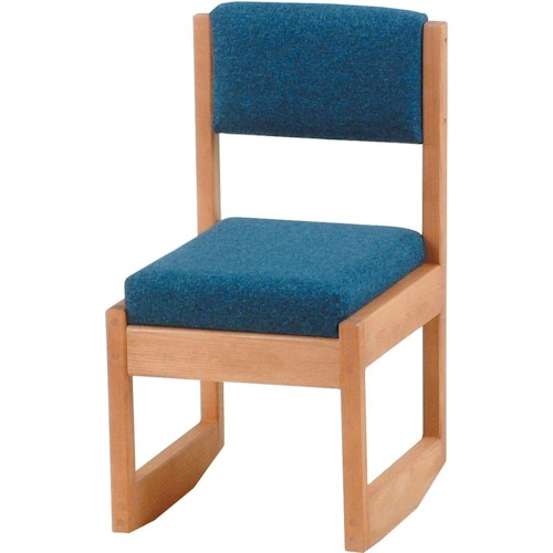 Crate Designs Pine Bedroom Casual Upholstered Desk Chair