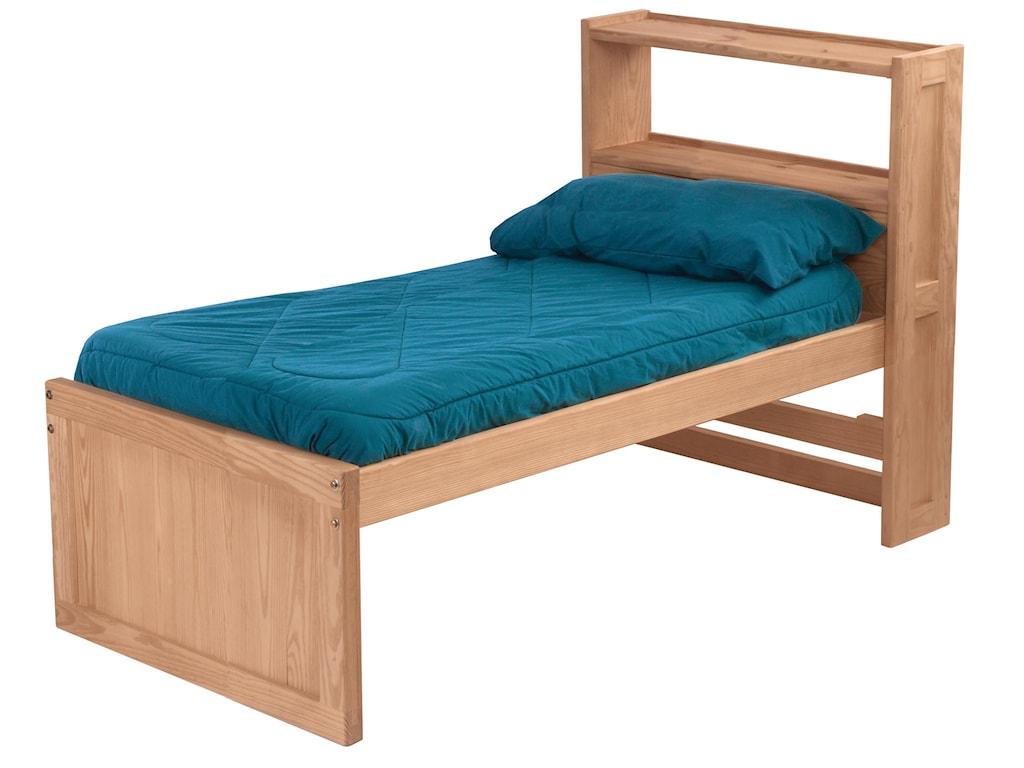 Crate Designs Pine BedroomTwin Bed