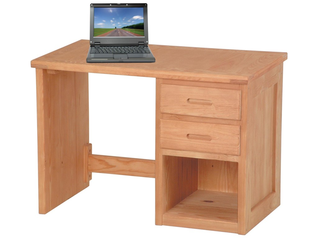 Crate Designs Pine BedroomDesk