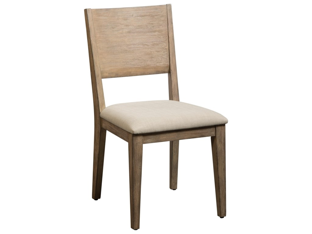 Cresent Fine Furniture Anders Acacia Side Chair