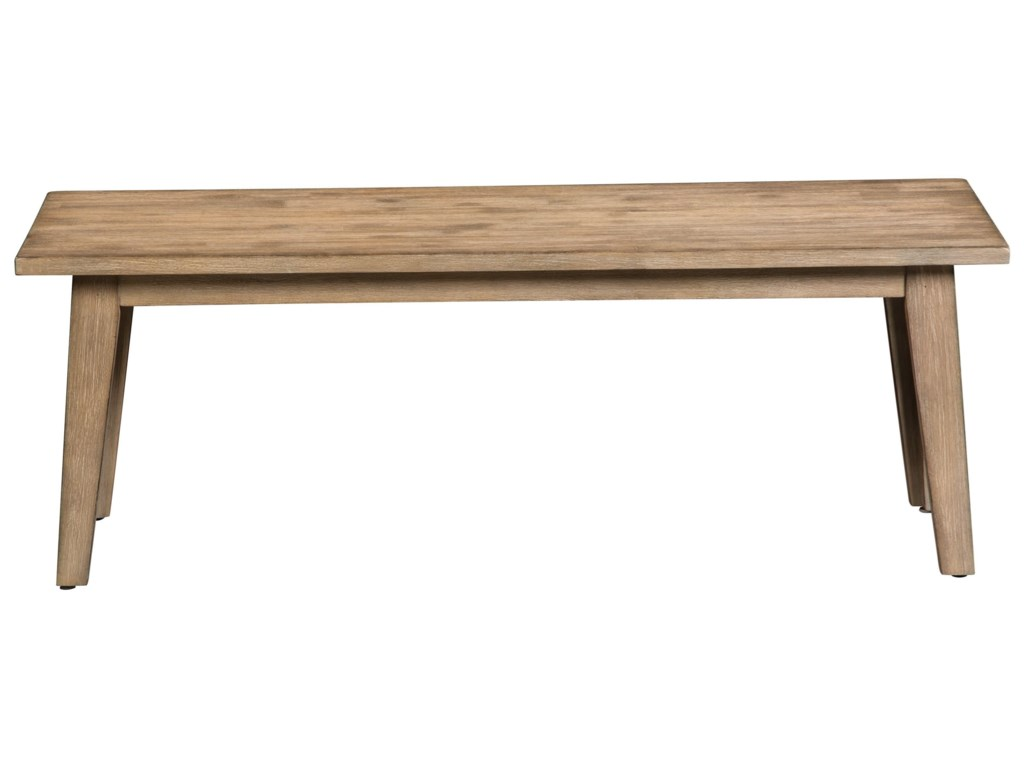 Cresent Fine Furniture Anders Acacia Bench