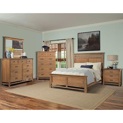 Cresent Fine Furniture Camden Queen Bedroom Group | Wayside ...