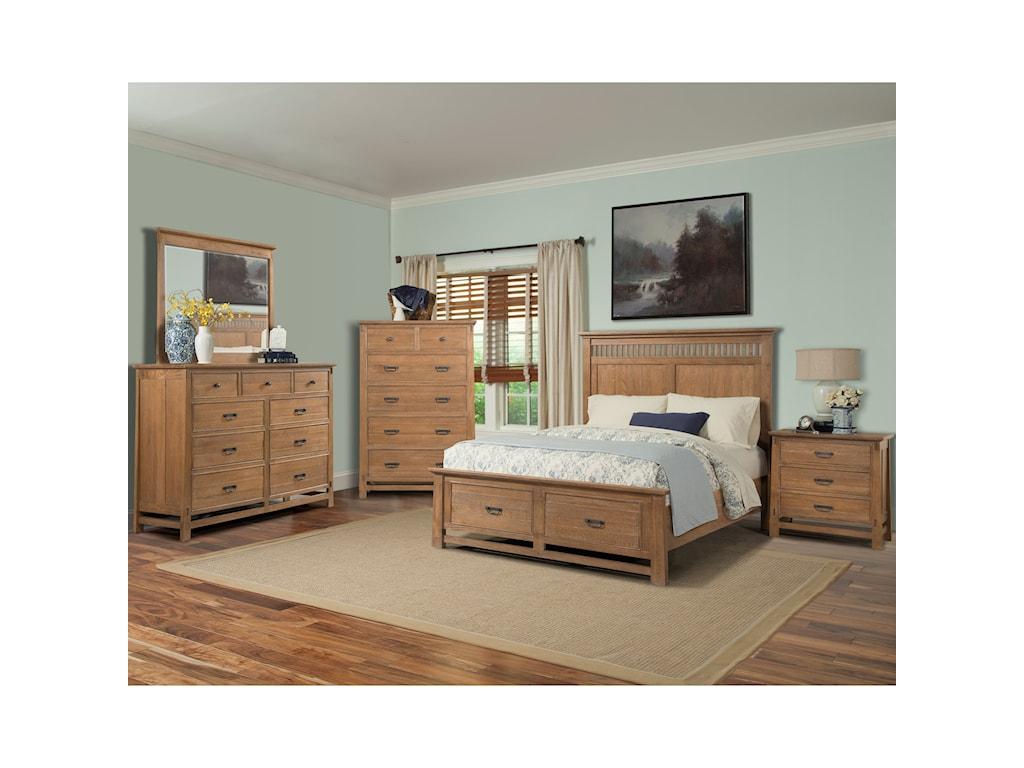 Cresent Fine Furniture Camden King Bedroom Group 2 | Broyhill of ...