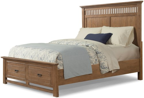 Cresent Fine Furniture Camden QUEEN STORAGE BED-STOCK ONLY!