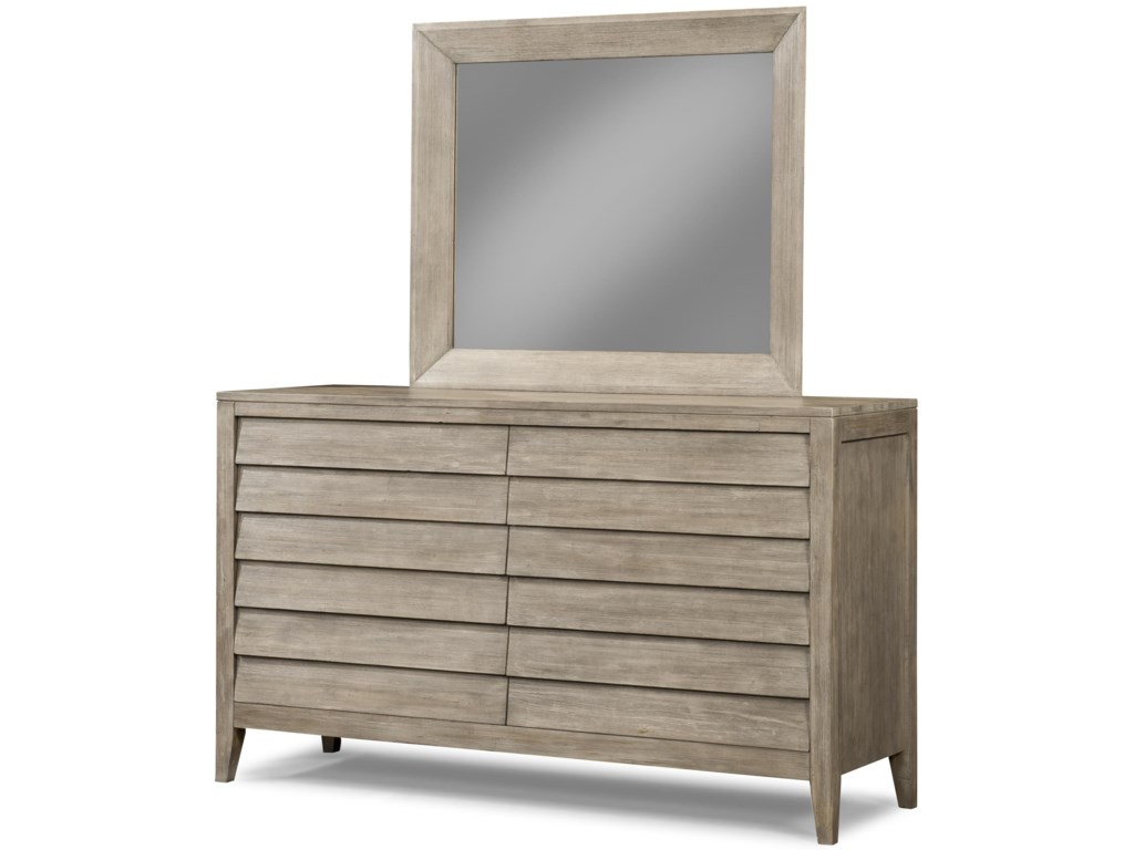 Cresent Fine Furniture Corliss LandingMirror