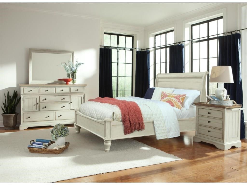 Cresent Fine Furniture CottageDresser & Mirror Set