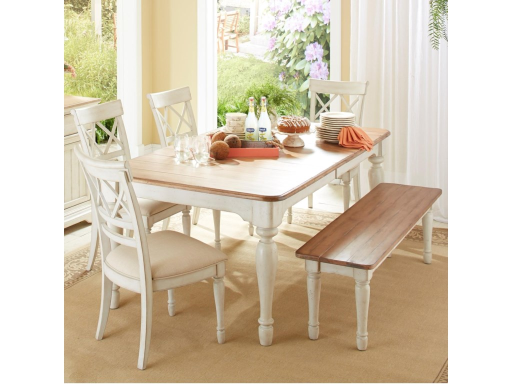 dining cottages set piece table tone by side two products and signature design ashley furniture cottage chairs round