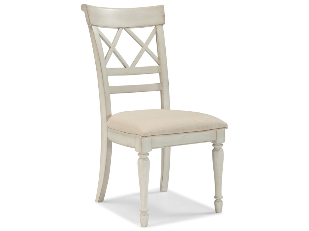 Cresent Fine Furniture Cottage6 Piece Table and Chair Set with Bench