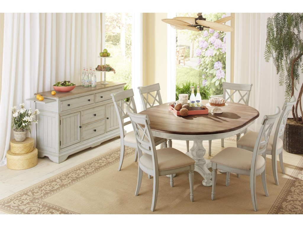 Cresent Fine Furniture CottageRound Table