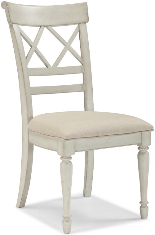 Cresent Fine Furniture Cottage Cottage Dining Chair w/ Upholstered Seat
