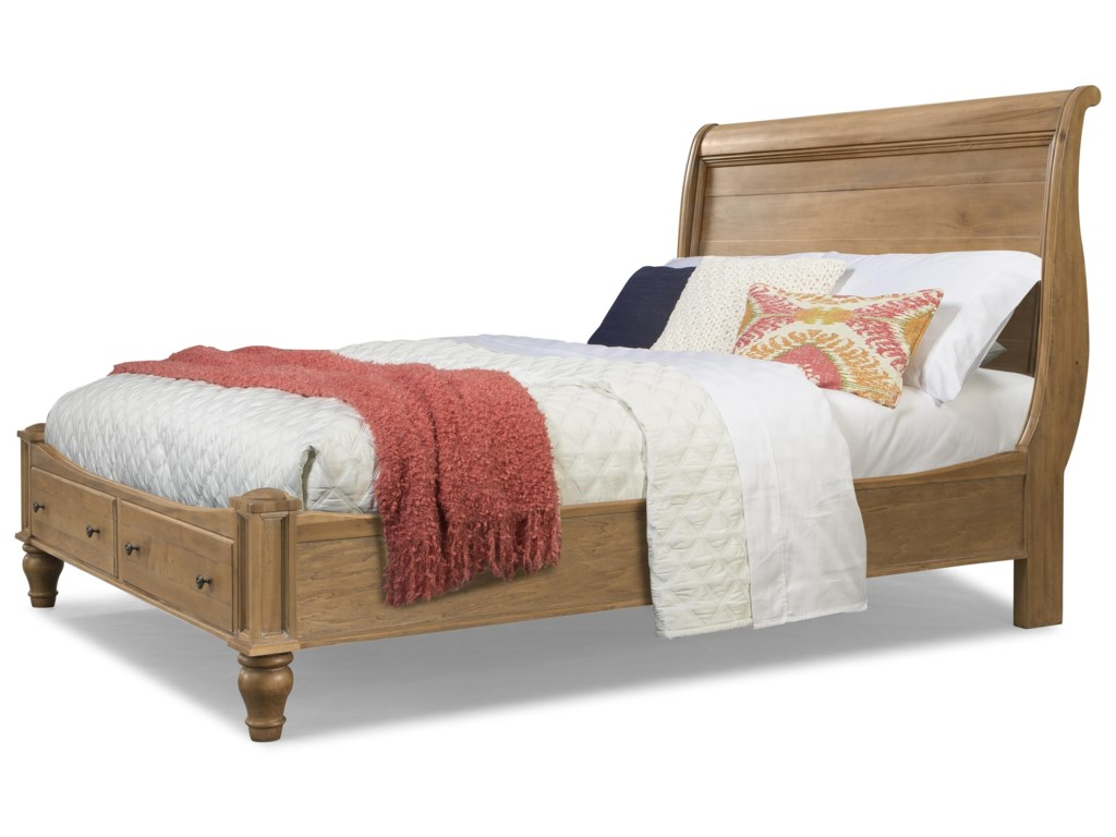 Picture Shown Reflects the Storage Bed