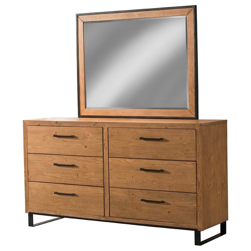 Exceptionnel Cresent Fine Furniture EdgefieldDresser And Mirror Combo ...