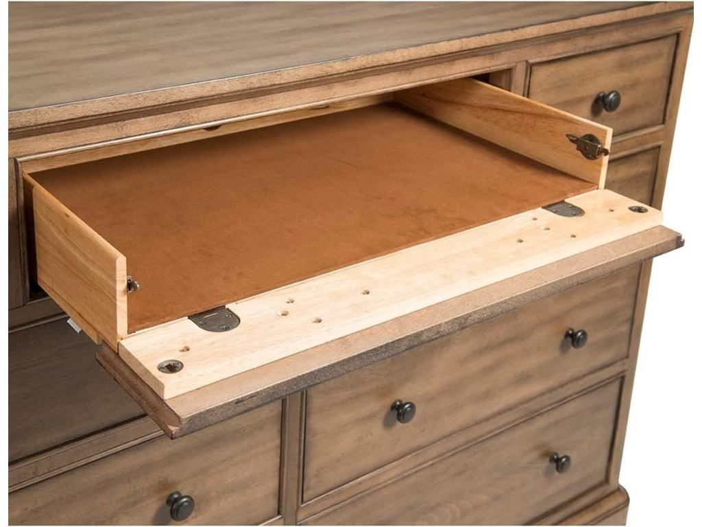 Cresent Fine Furniture GunnisonMedia Dresser