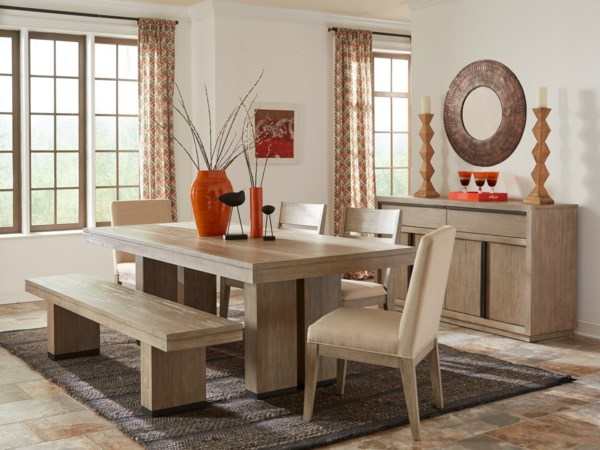 casual dining rooms. Cresent Fine Furniture Larkspur Casual Dining Room Group  Hartford Bridgeport Connecticut