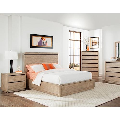Cresent Fine Furniture Larkspur King Bedroom Group | Wayside ...