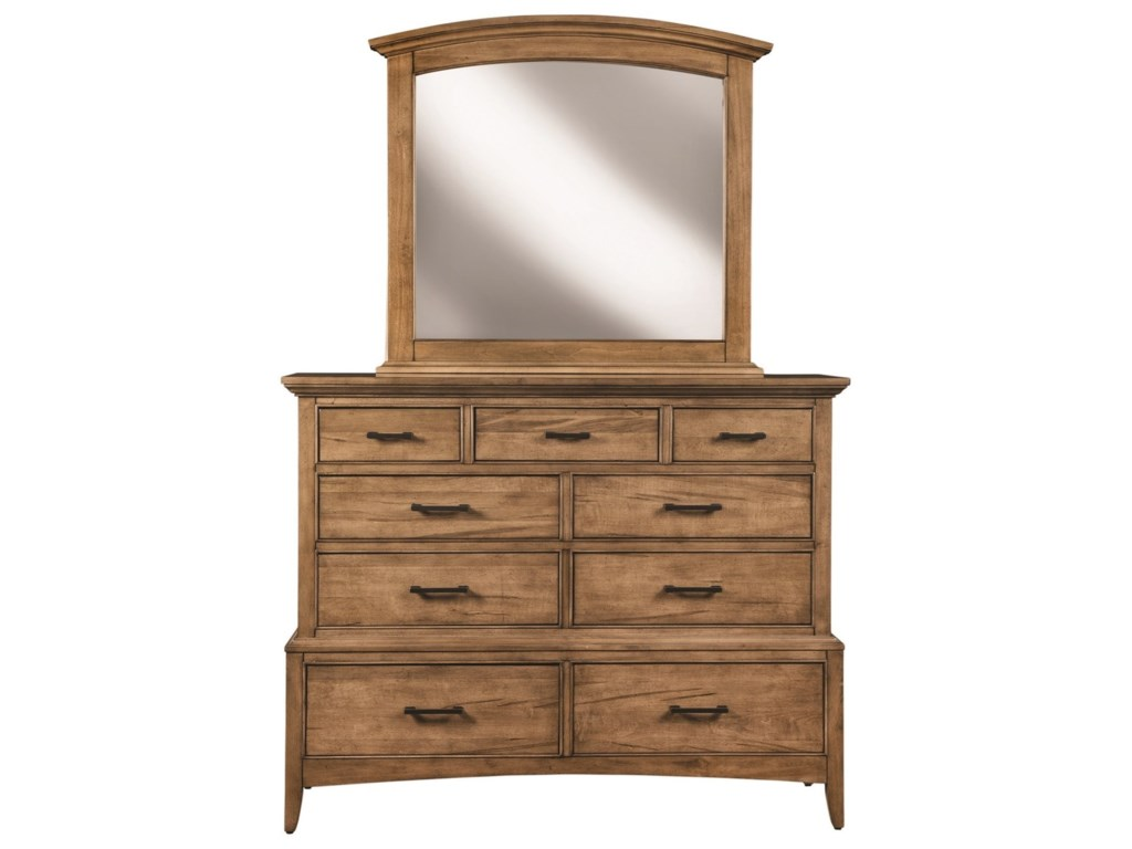Cresent Fine Furniture LockelandMirror