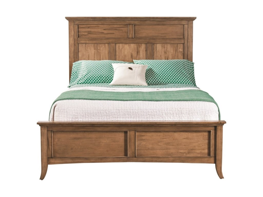 Cresent Fine Furniture LockelandKing Panel Bed