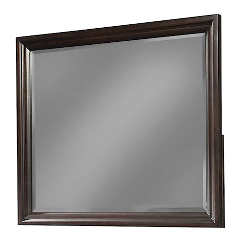 Cresent Fine Furniture Newport Framed Landscape Mirror