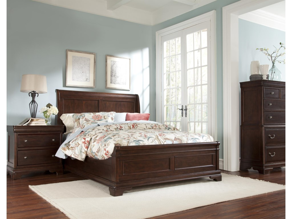 Cresent Fine Furniture ProvenceNightstand w/ Power