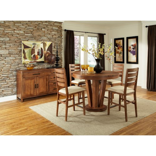 Cresent Fine Furniture Waverly Casual Dining Room Group