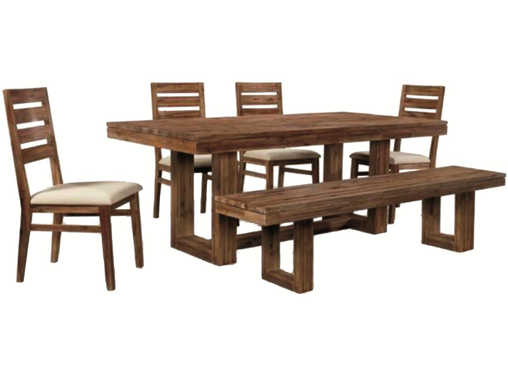 Cresent Fine Furniture Waverly6 Piece Set
