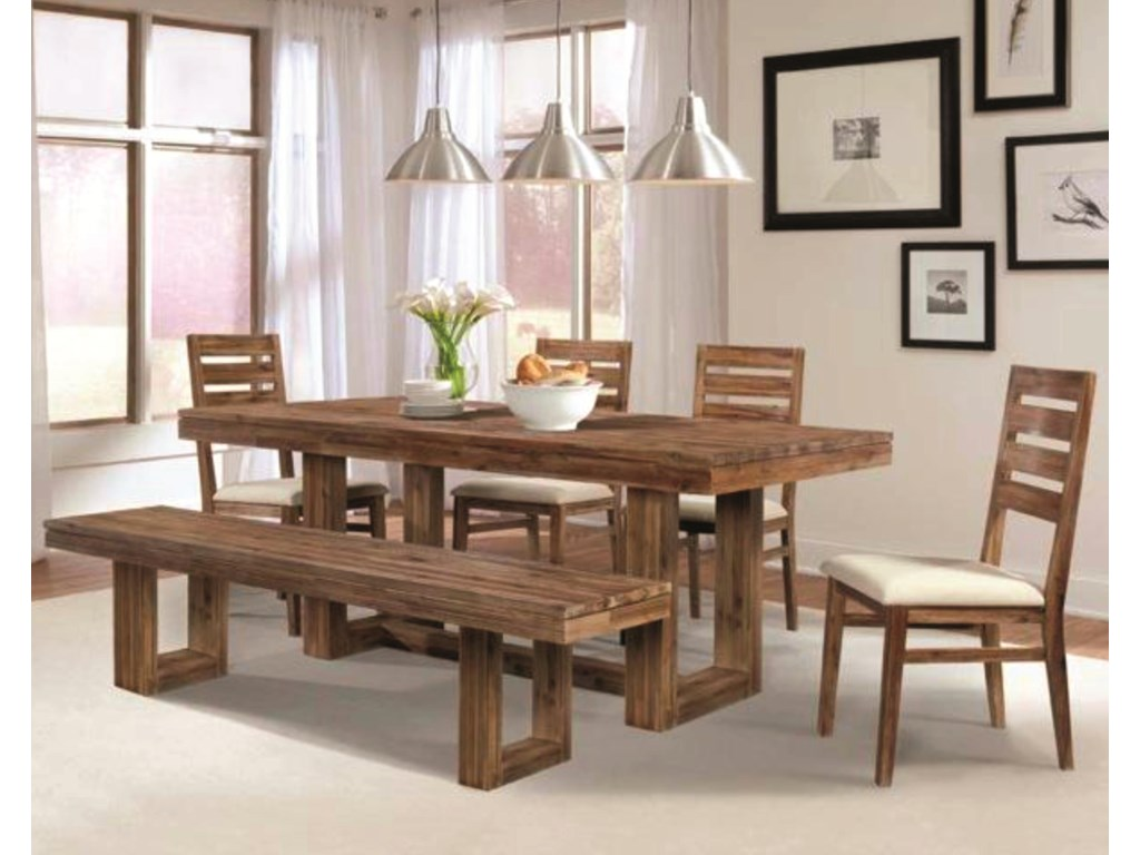 Shown with Trestle Table & Dining Bench