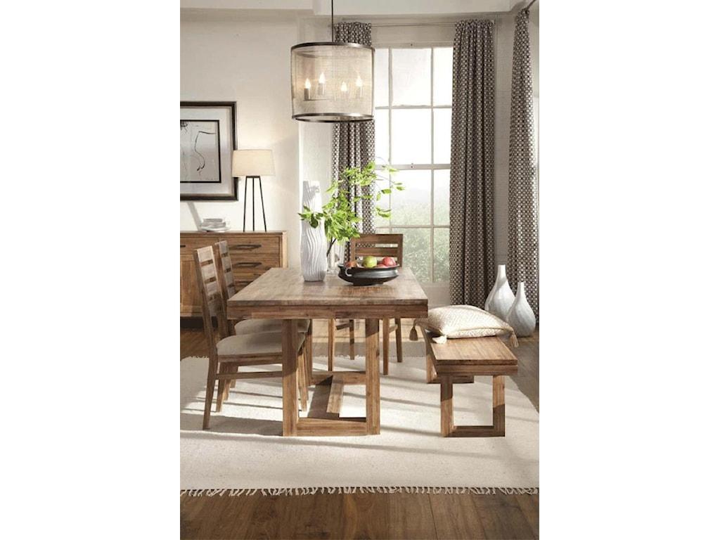 Cresent Fine Furniture WaverlyDining Bench
