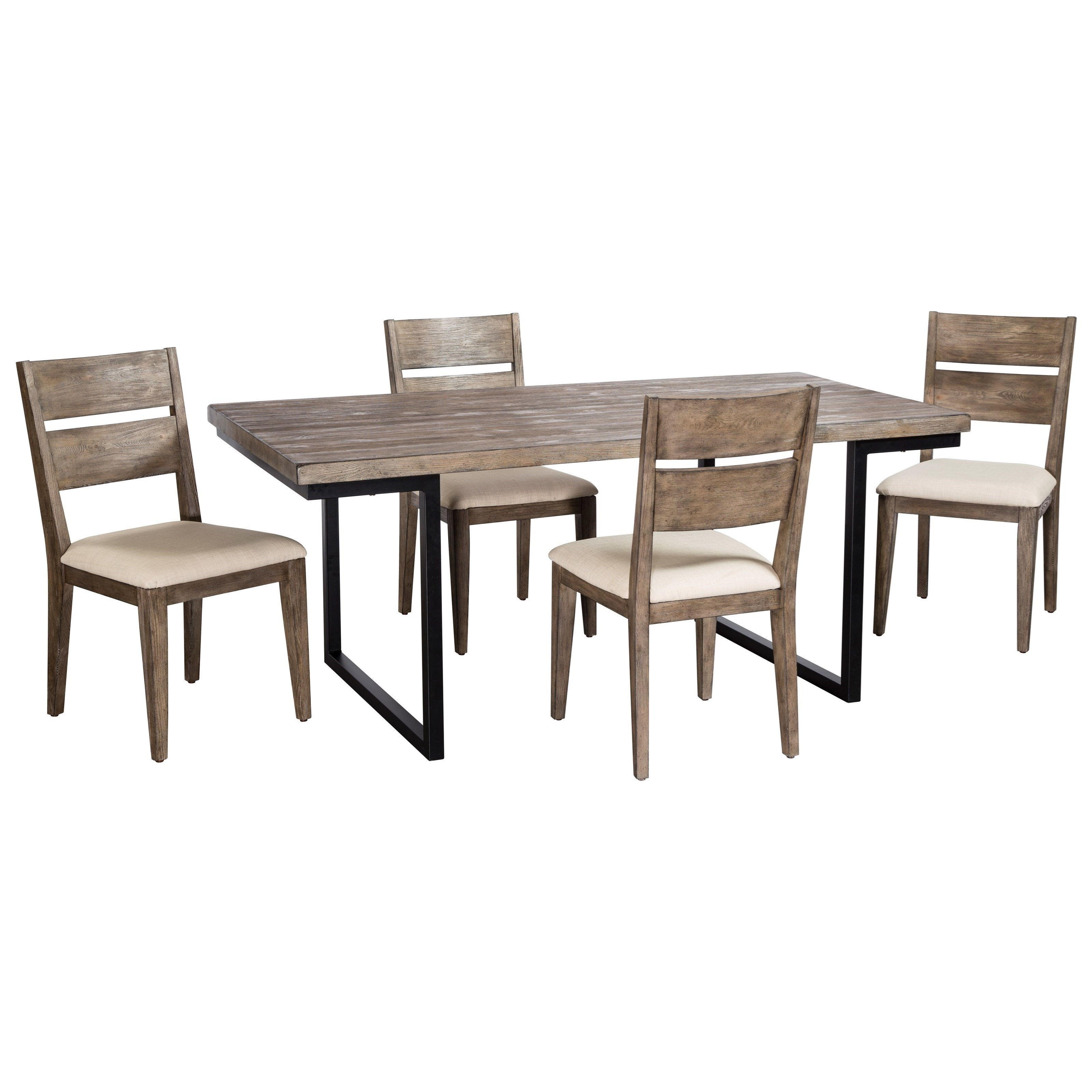Exceptionnel Cresent Fine Furniture West End5 Piece Table And Chair Set ...