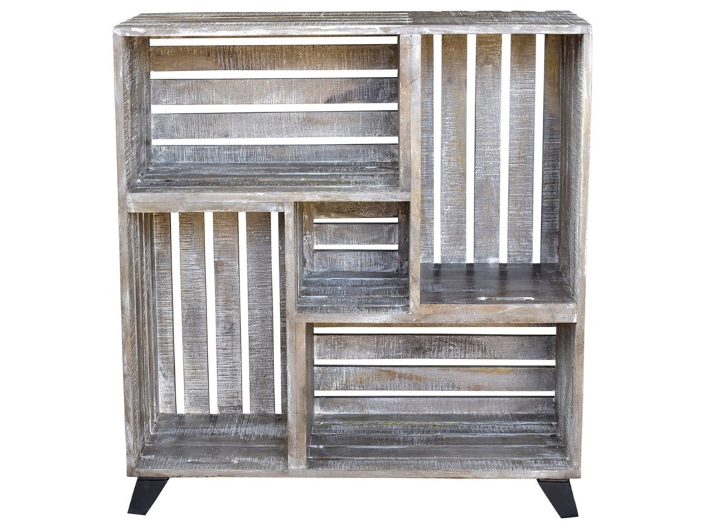 Crestview Collection Accent FurnitureBengal Manor Mango Wood Reclaimed Crates Boo
