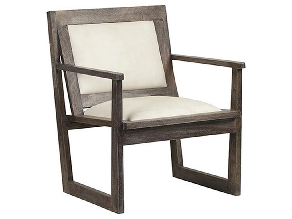 Crestview Collection Accent FurnitureBengal Manor Charcoal Grey Mango Wood Accent