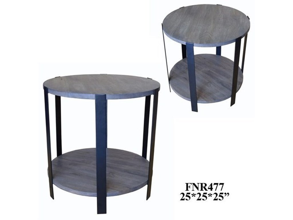 Crestview Collection Accent FurnitureMango Round End Tables