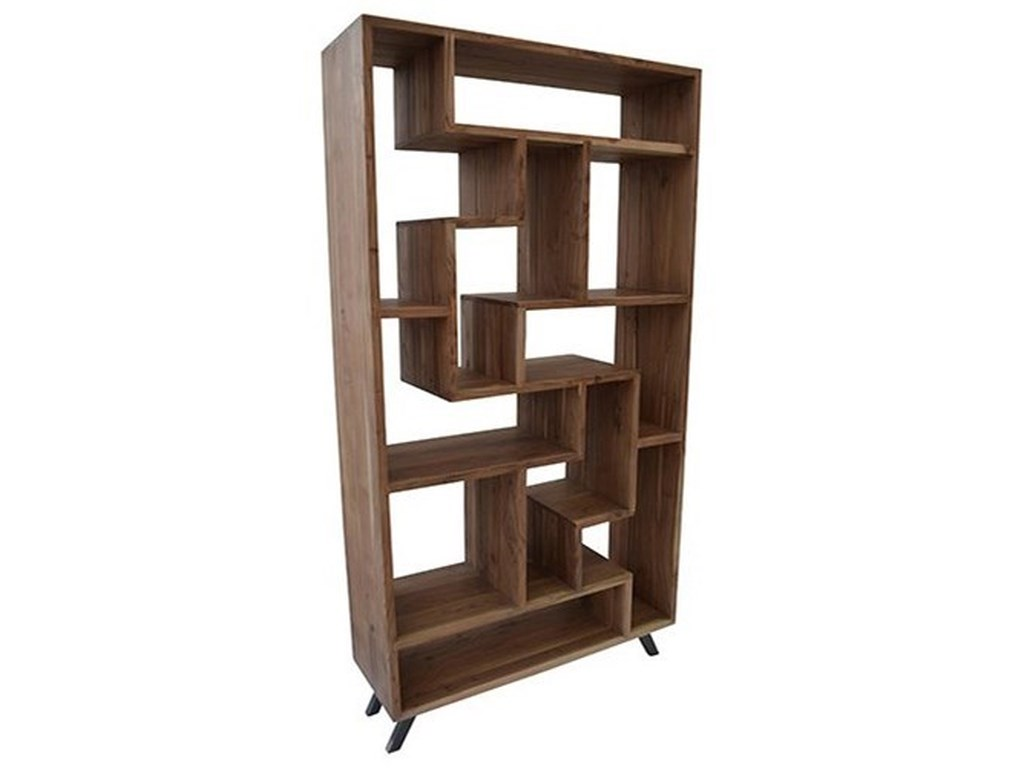 Crestview Collection Accent FurnitureAcacia Wood Multi Level Etagere